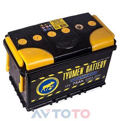 Аккумулятор Tyumen Battery  6CT75L0