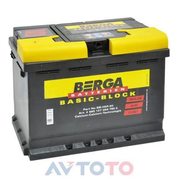 Аккумулятор Berga 5601270547902