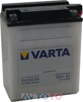 Аккумулятор Varta 514014014