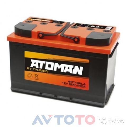 Аккумулятор ATOMAN AT6CT921LA