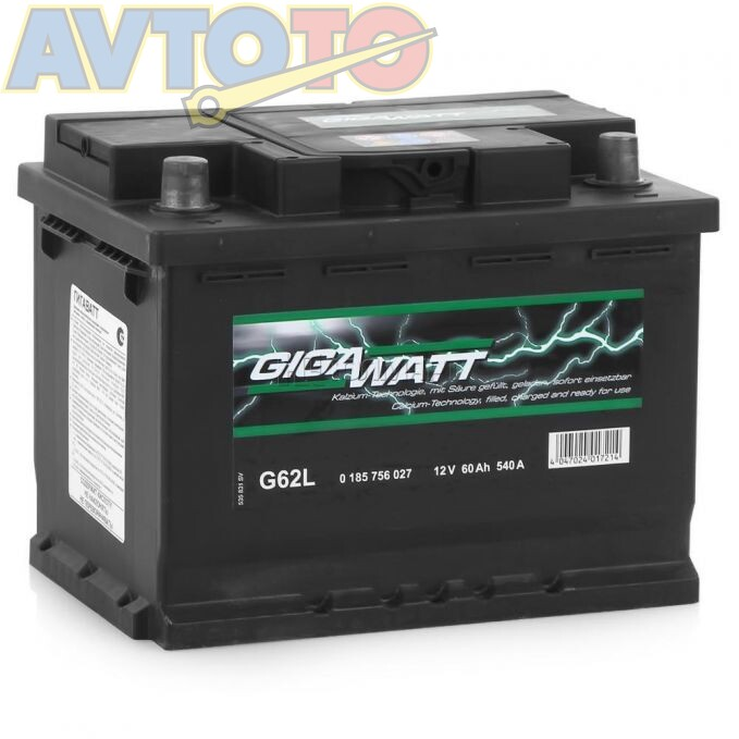 Аккумулятор Gigawatt 0185756027