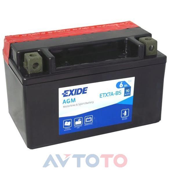 Аккумулятор Exide ETX7ABS