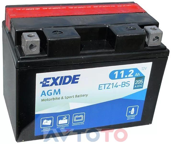 Аккумулятор Exide ETZ14BS
