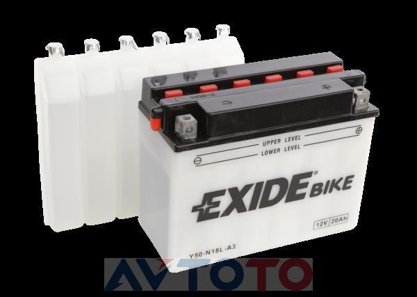 Аккумулятор Exide Y50N18LA
