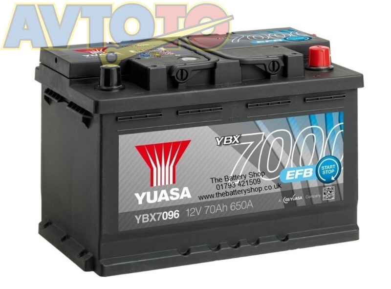 Аккумулятор Yuasa YBX7096