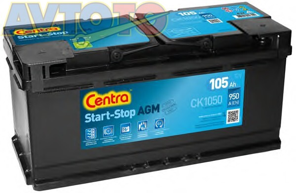 Аккумулятор Centra CK1050
