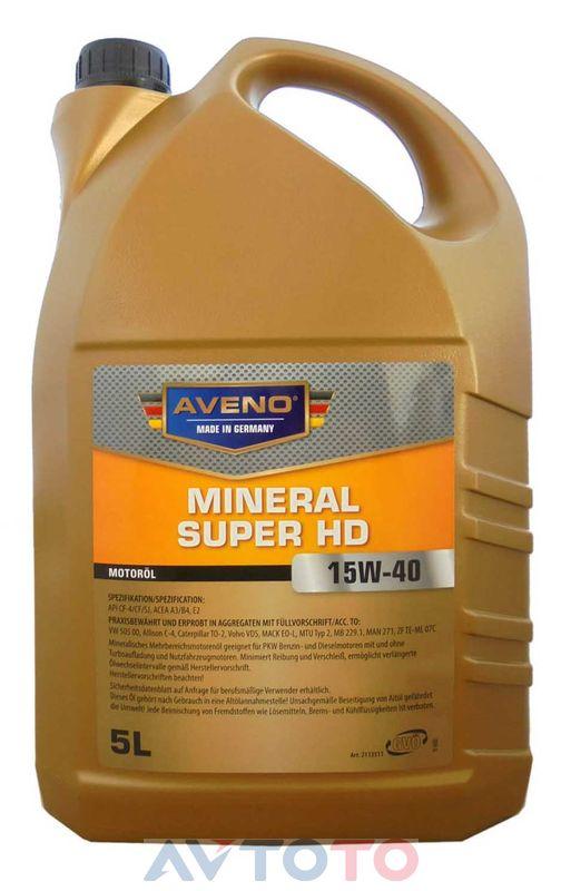 Моторное масло Aveno 3011002005