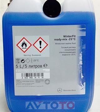 Жидкость омывателя Mercedes Benz A002986147118