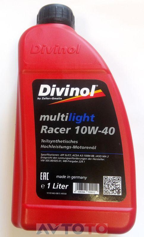 Моторное масло Divinol 49550C069