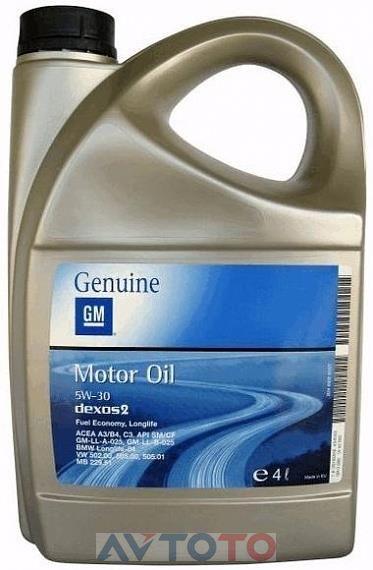 Моторное масло General Motors 1942002