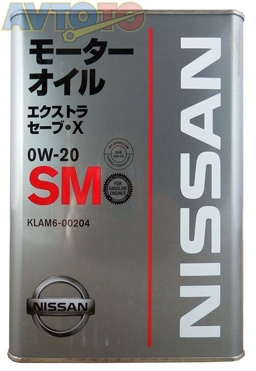 Моторное масло Nissan KLAM600204