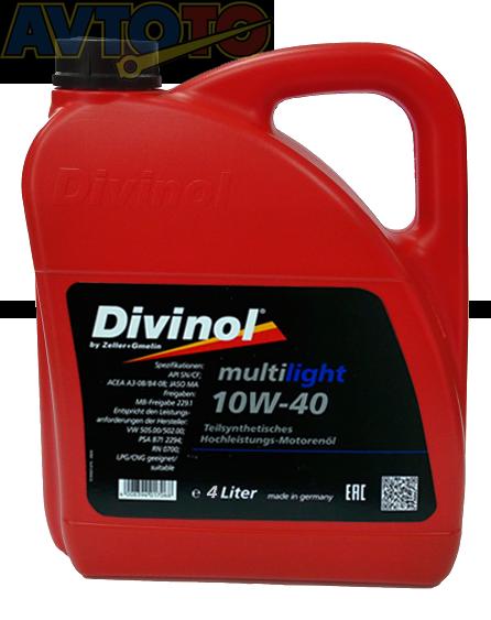 Моторное масло Divinol 49610K004