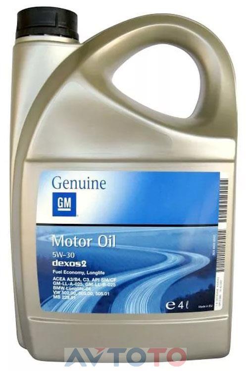 Моторное масло General Motors 93165556