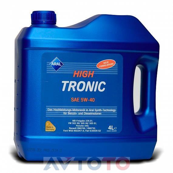 Моторное масло Aral 20634