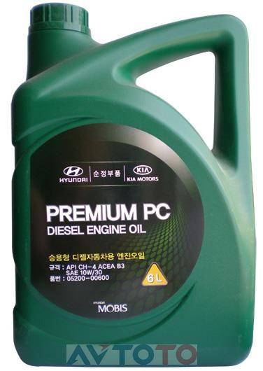 Моторное масло Hyundai/Kia 0520000600