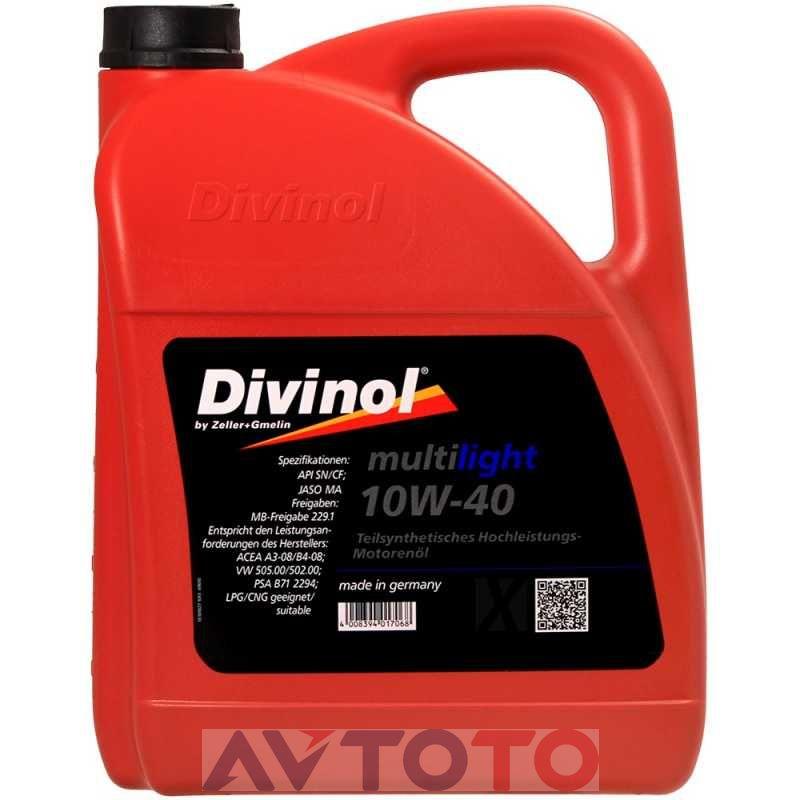 Моторное масло Divinol 49610K007