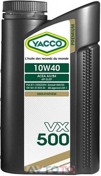 Моторное масло Yacco 303125