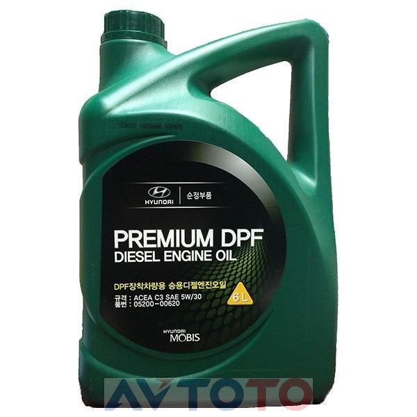 Моторное масло Hyundai/Kia 0520000620