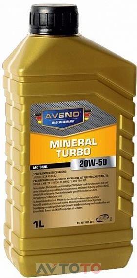 Моторное масло Aveno 3011001001