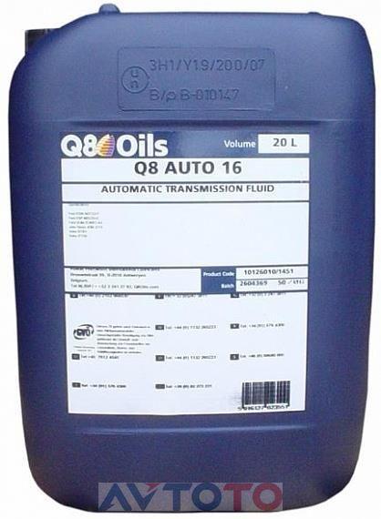 Трансмиссионное масло Q8 101260101453
