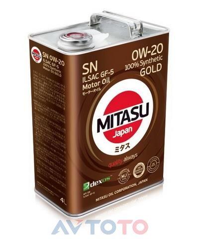 Моторное масло Mitasu MJ1024
