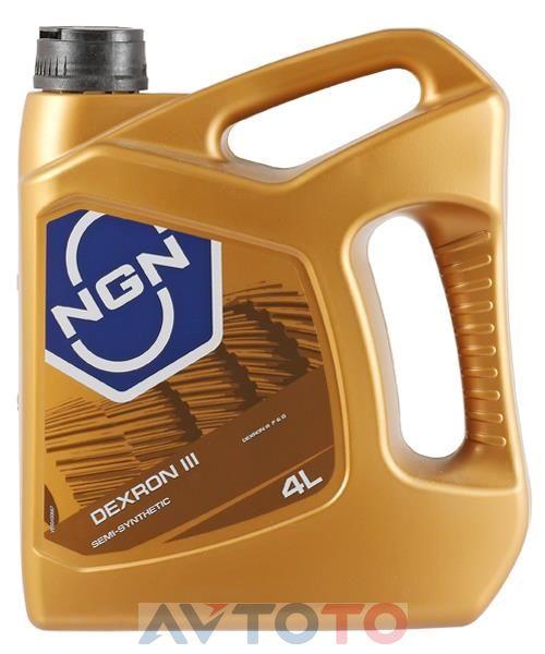 Трансмиссионное масло NGN Oil ATFDEXRONIIISEMISYNTHETIC4L