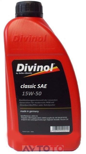 Моторное масло Divinol 4934CAC069