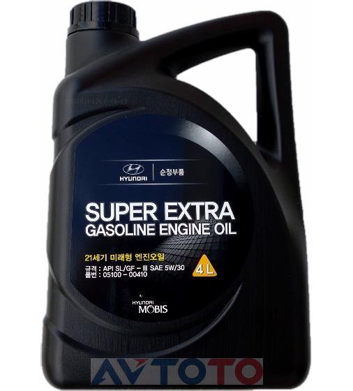 Моторное масло Hyundai/Kia 0510000410