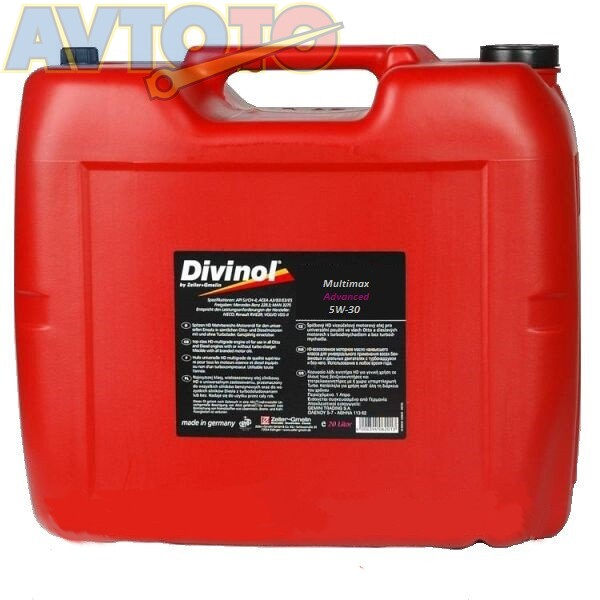 Моторное масло Divinol 49360K030