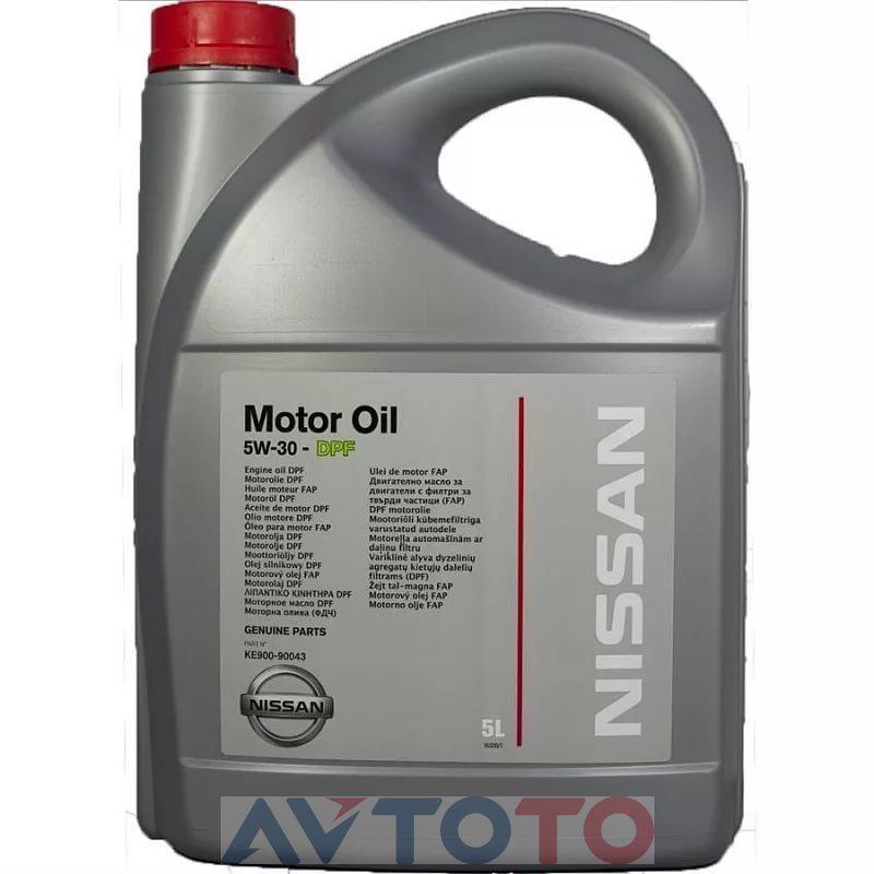 Моторное масло Nissan KE90090043R