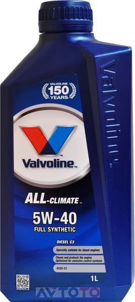 Моторное масло Valvoline 872282