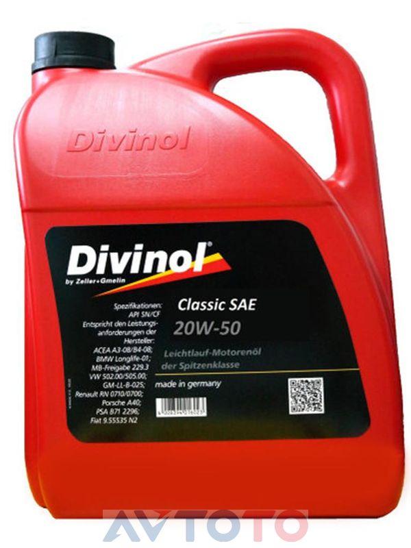 Моторное масло Divinol 4963CAK007