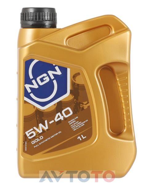 Моторное масло NGN Oil 5W40SNCFGOLD1L