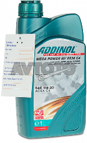 Моторное масло Addinol 4014766073259