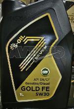 Моторное масло S-Oil GOLDFE5W3001