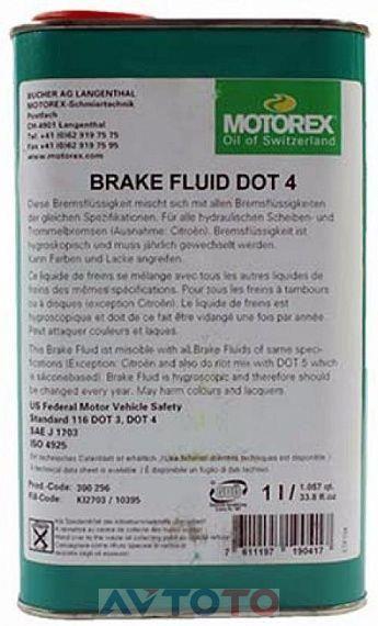 Тормозная жидкость Motorex 300296