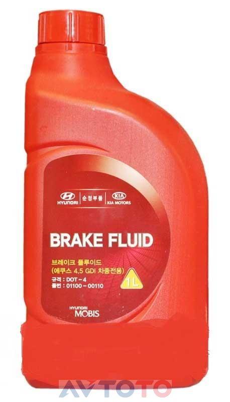 Тормозная жидкость Hyundai/Kia 0110000110