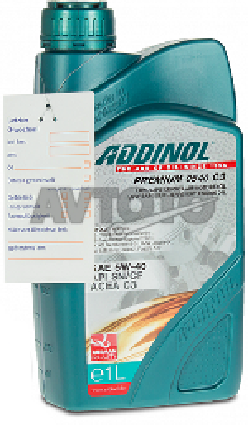 Моторное масло Addinol 4014766074331