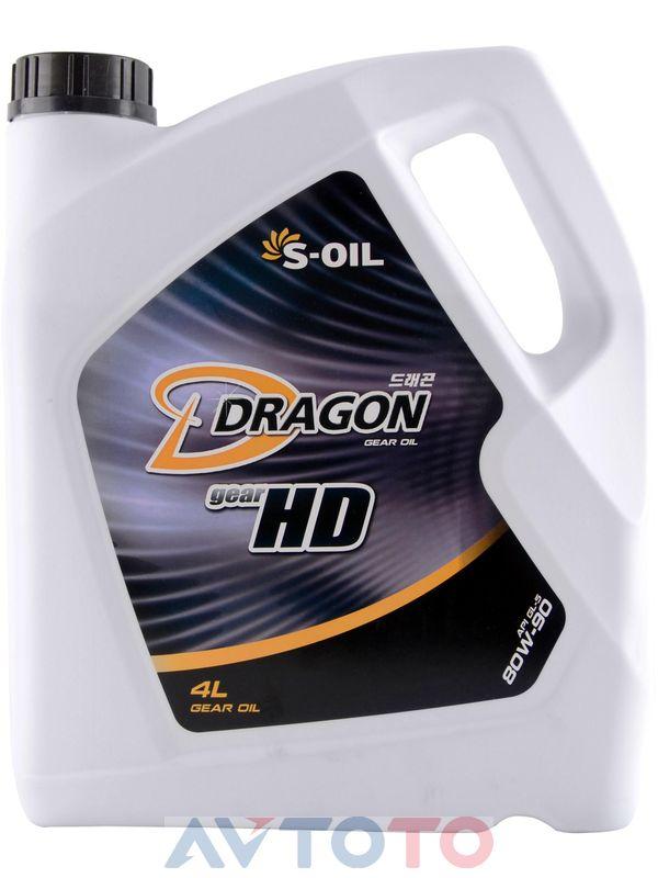 Трансмиссионное масло S-Oil DHD80W9004