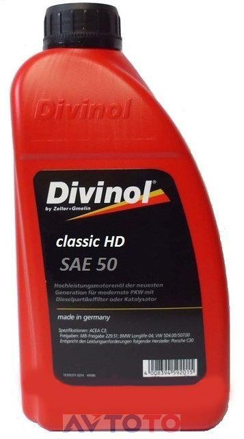 Моторное масло Divinol 4945CAC069