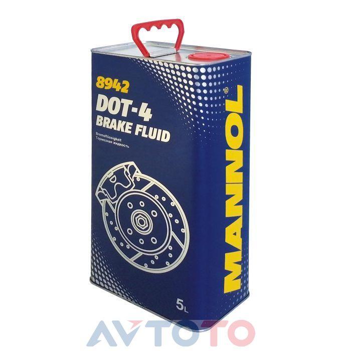 Тормозная жидкость Mannol 8942