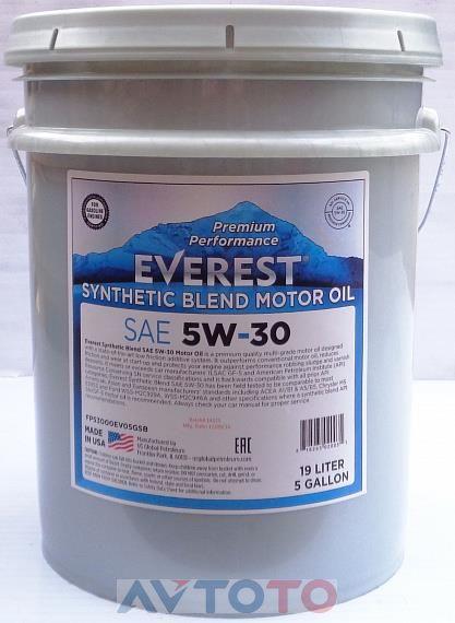Моторное масло EVEREST FP53000EV19LSB