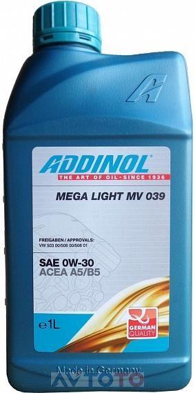Моторное масло Addinol 4014766071729
