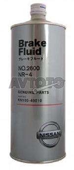 Тормозная жидкость Nissan KN10040010