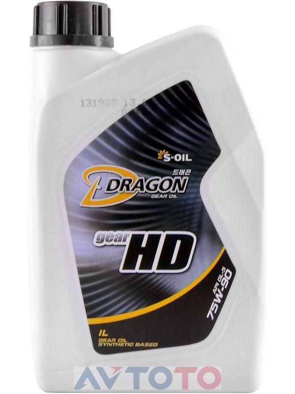 Трансмиссионное масло S-Oil DHD75W9001