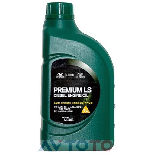 Моторное масло Hyundai/Kia 0520000111