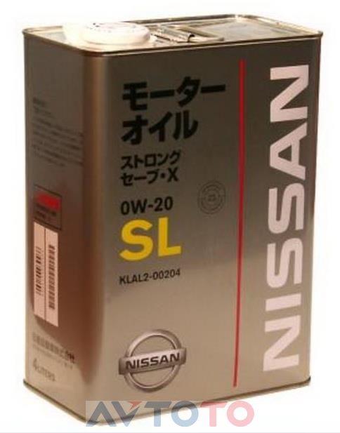Моторное масло Nissan KLAL200204