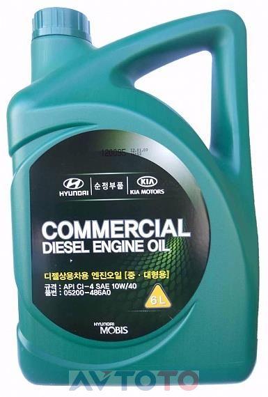Моторное масло Hyundai/Kia 05200486A0