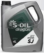 Моторное масло S-Oil DSJ20W5004