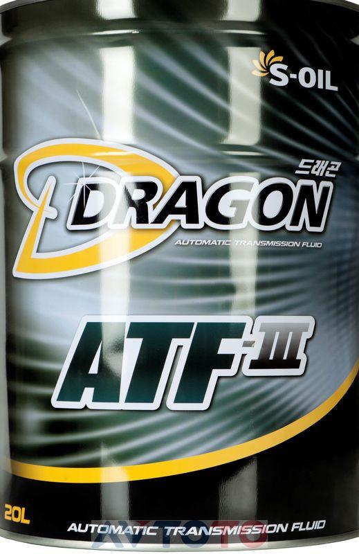 Трансмиссионное масло S-Oil DATF20